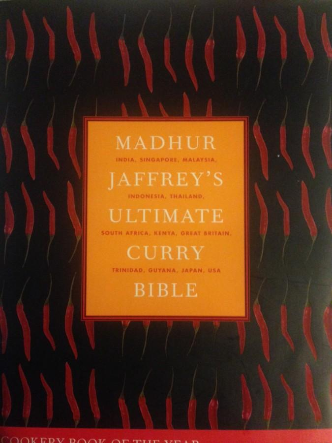Book cover for Madhur Jaffrey's Ultimate Curry Bible